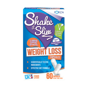 Forza Shake it Slim Weight Loss Capsules EXP OCT 19