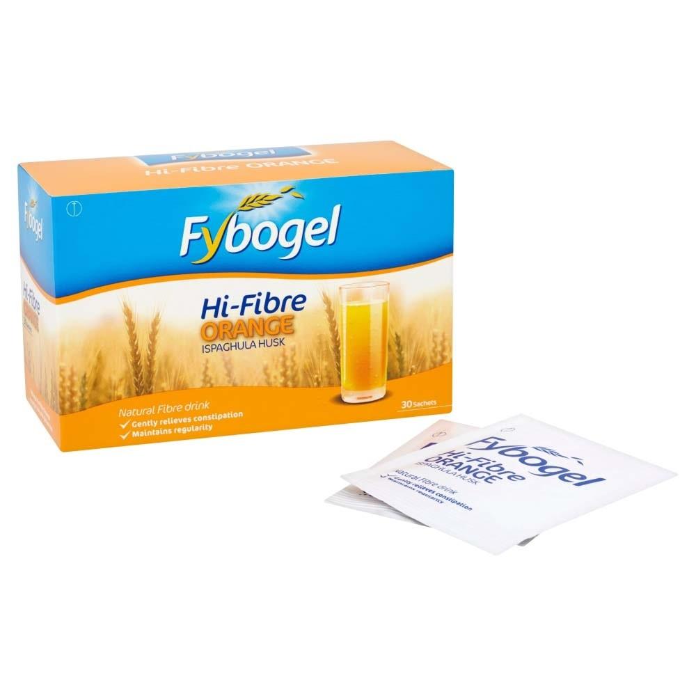 Fybogel Hi-Fibre Sachets (Orange)