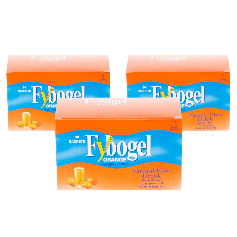 Fybogel Sachets Orange Multipacks 3x30 sachets