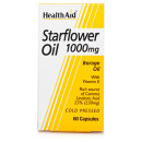 HealthAid Gamma Starflower Oil 1000mg Caps (23% Gla)