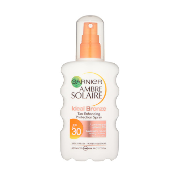 Garnier Ambre Solaire Ideal Bronze Tan Spray SPF30