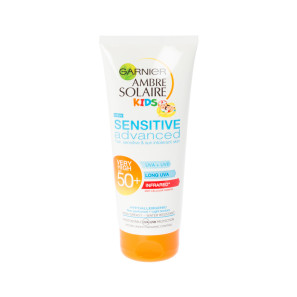 Garnier Ambre Solaire Kids Sensitive Advanced Sun Cream Lotion SPF50+