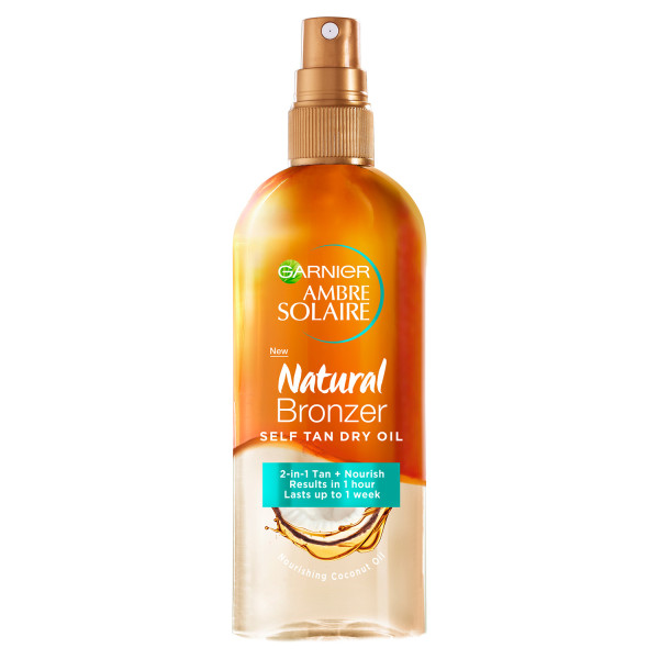 Garnier Ambre Solaire Natural Bronzer Self Tan Dry Oil