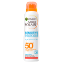Ambre Solaire Sensitive Dry Mist Sun Cream Spray SPF50+