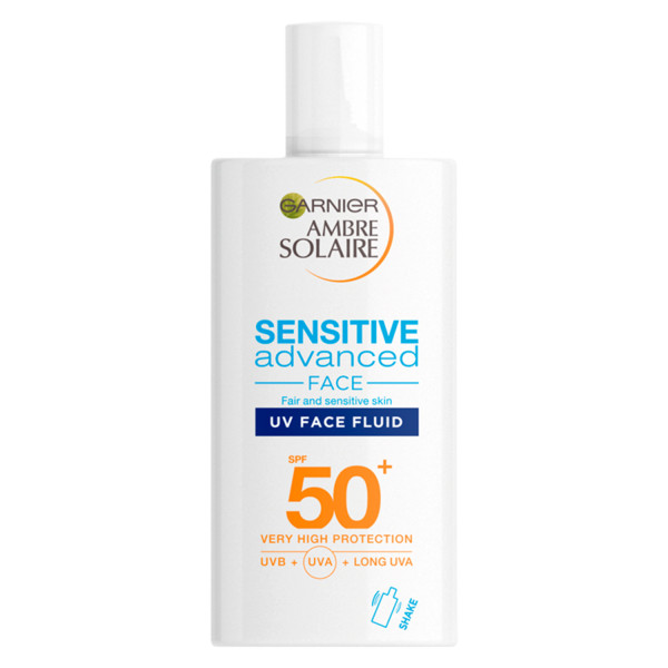 Garnier Ambre Solaire Ultra-Light Sensitive Face Fluid SPF50+