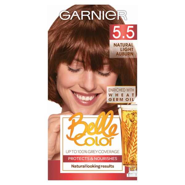 Garnier Belle Colour 5.5 Natural Light Auburn Hair Dye
