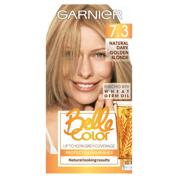 Garnier Belle Colour 7.3 Natural Dark Golden Blonde Hair Dye