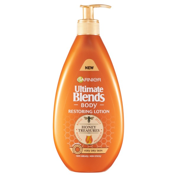 Garnier Ultimate Blends Honey Treasures Body Restoring Lotion