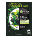 Garnier Charcoal and Algae Purifying Tissue Mask