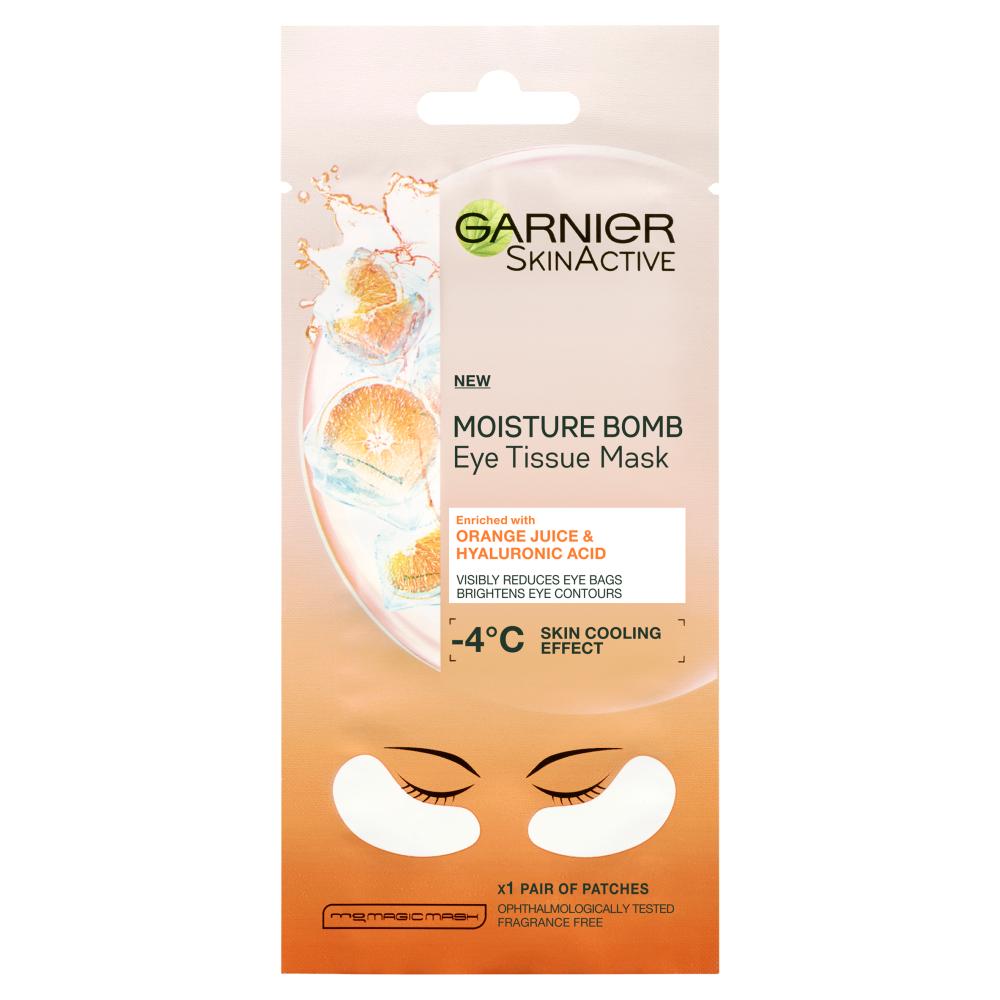 Garnier Eye Sheet Mask Hyaluronic Acid And Orange Juice 6g