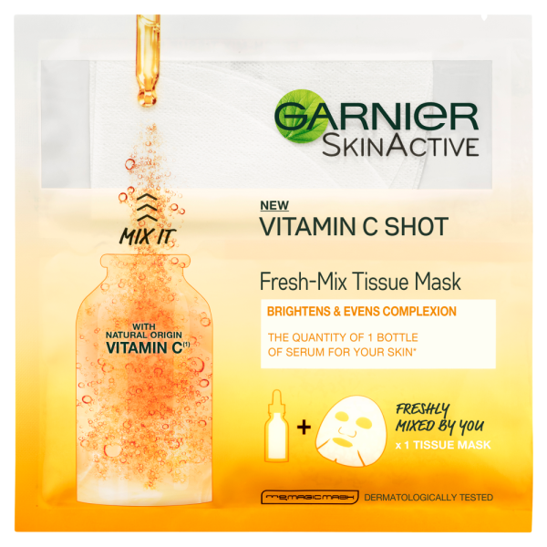 Garnier SkinActive Fresh-Mix Tissue Mask with Vitamin C