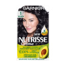 Garnier Nutrisse 1 Black Permanent Hair Dye