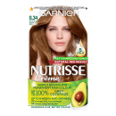 Garnier Nutrisse 6.34 Natural Dark Red Permanent Hair Dye