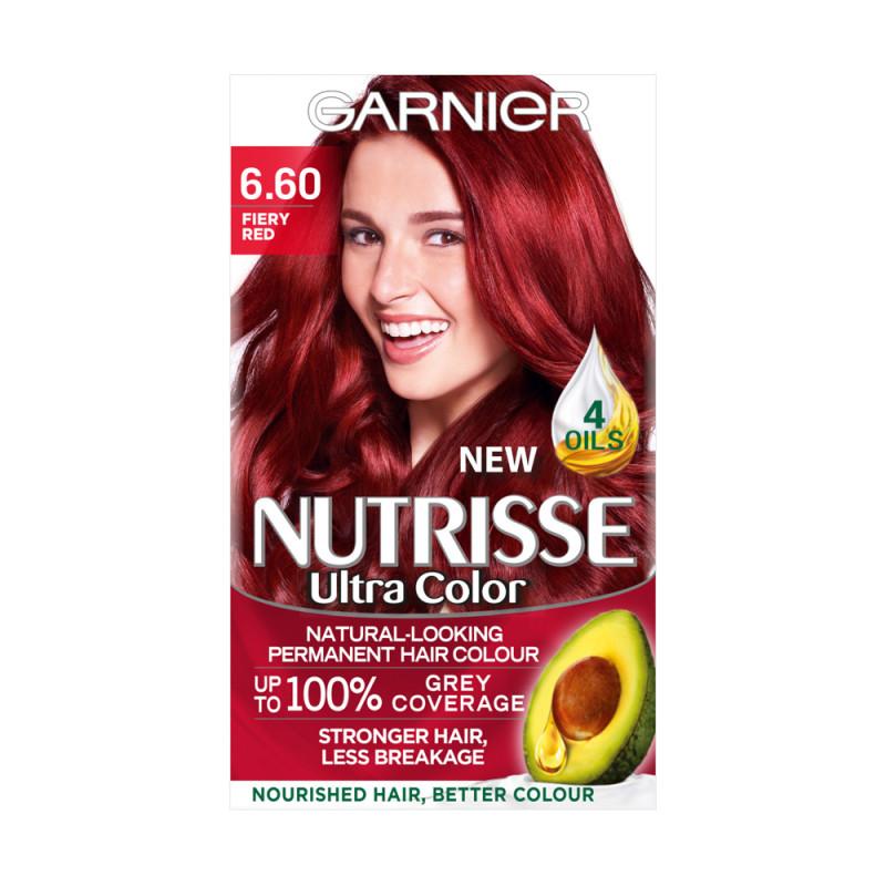 Buy Garnier Nutrisse 660 Ultra Fiery Red Permanent Hair Dye
