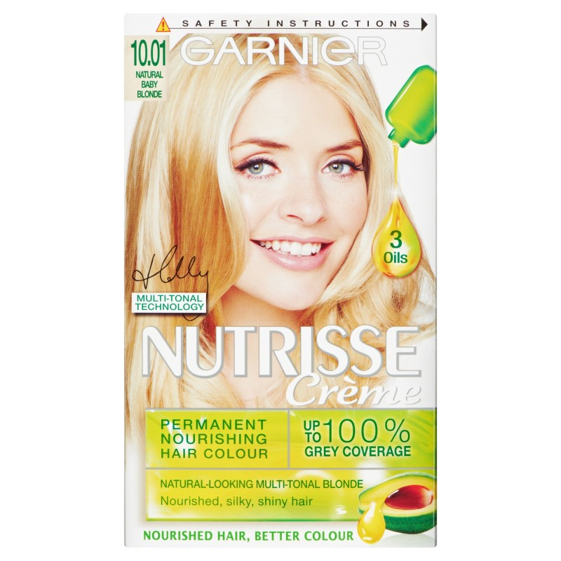 Buy Garnier Nutrisse 1001 Baby Blonde Permanent Hair Dye 1 Kit