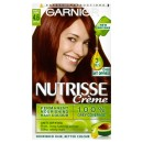 Garnier Nutrisse Creme Permanent 4.6 Morello Cherry Deep Red