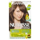 Garnier Nutrisse 5 Brown Permanent Hair Dye Pack of 3