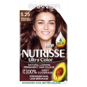 Garnier Nutrisse Ultra 5.25 Frosted Chestnut Hair Dye