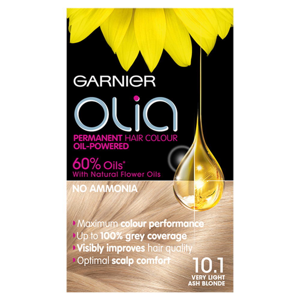 Garnier Olia 10.1 Very Light Ash Blonde Hair Dye