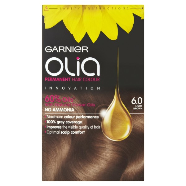 Garnier Olia 6.0 Light Brown Hair Dye