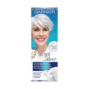 Garnier Perfect Silver Grey Hair Neutralising Cream White