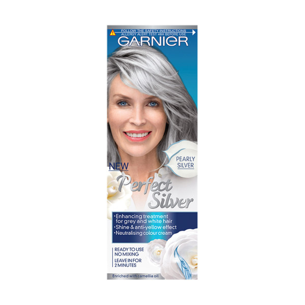 Garnier Perfect Silver Pearly Silver Hair Neutralising Cream