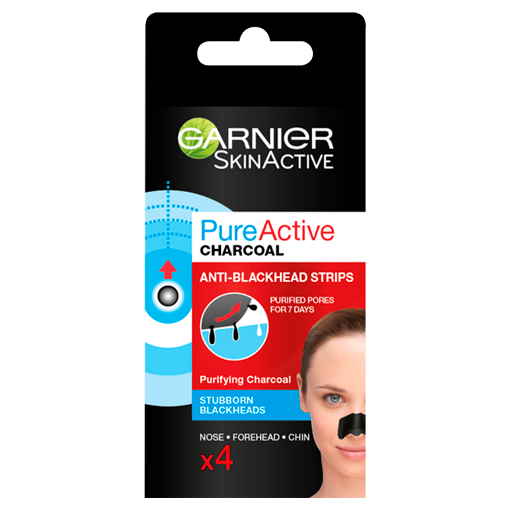 Garnier Pure Active Charcoal Anti-Blackhead Pore Strips