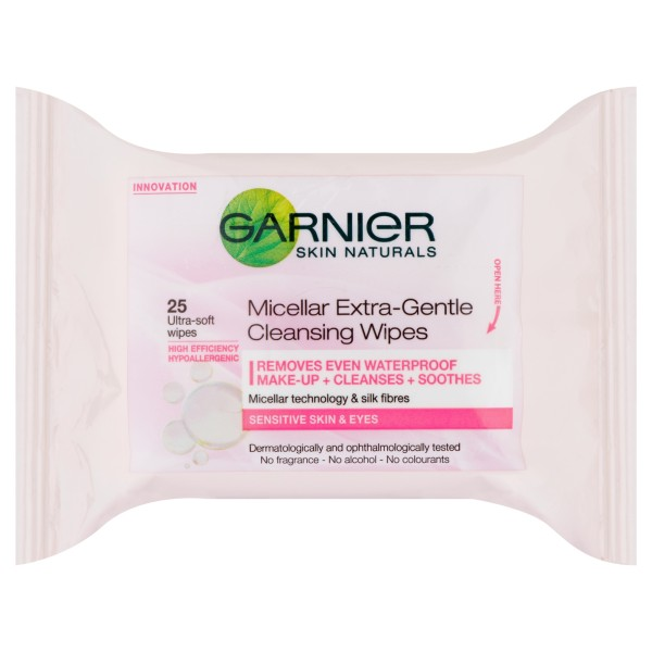 Garnier Micellar Extra-Gentle Cleansing Wipes