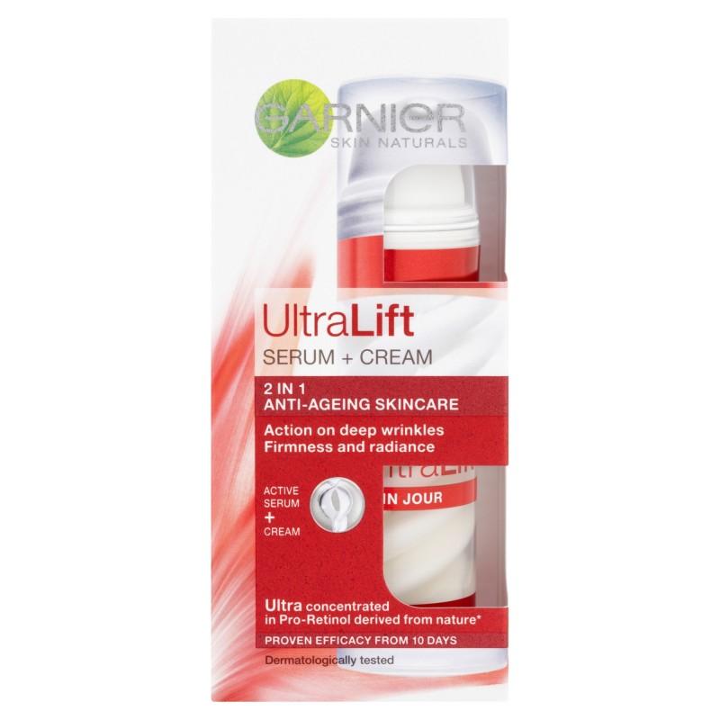 Garnier Skin Naturals UltraLift Serum Cream