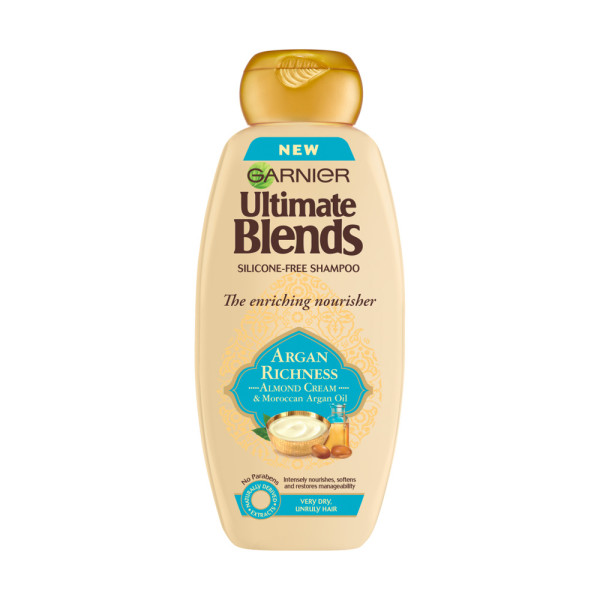 Garnier Ultimate Blends Argan Oil & Almond Cream Shampoo