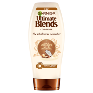 Garnier Ultimate Blends Coconut Milk & Macadamia Conditioner