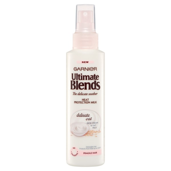 Garnier Ultimate Blends Delicate Oat Heat Protection Milk Spray