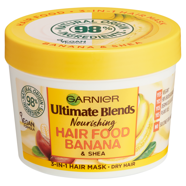 Garnier Ultimate Blends Hair Food Banana 3-in-1 Mask