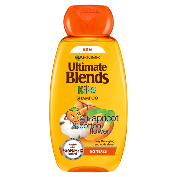 Garnier Ultimate Blends Kids Apricot & Cotton Flower No Tears Shampoo