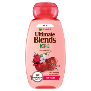 Garnier Ultimate Blends Kids Sweet Almond & Cherry No Tears Shampoo