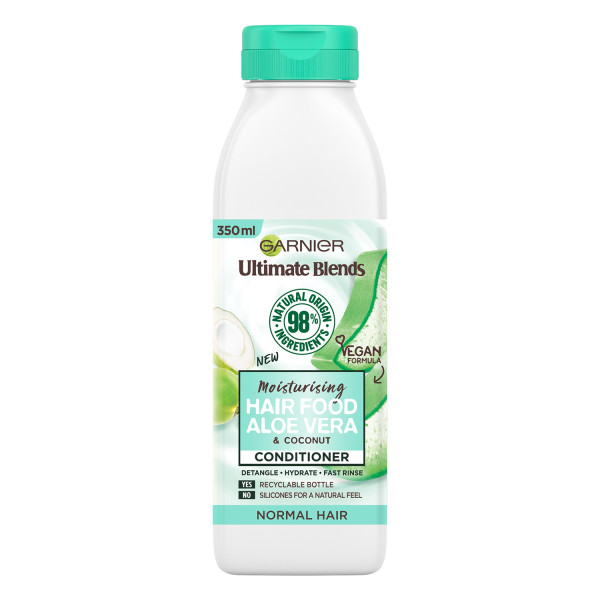 Garnier Ultimate Blends Moisturising Hair Food Aloe Vera Conditioner for Normal Hair