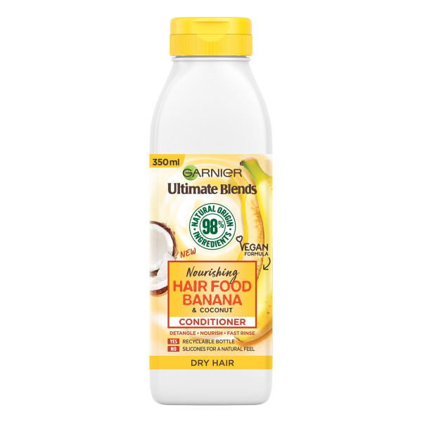 Garnier Ultimate Blends Nourishing Hair Food Banana Conditioner For Dry Hair