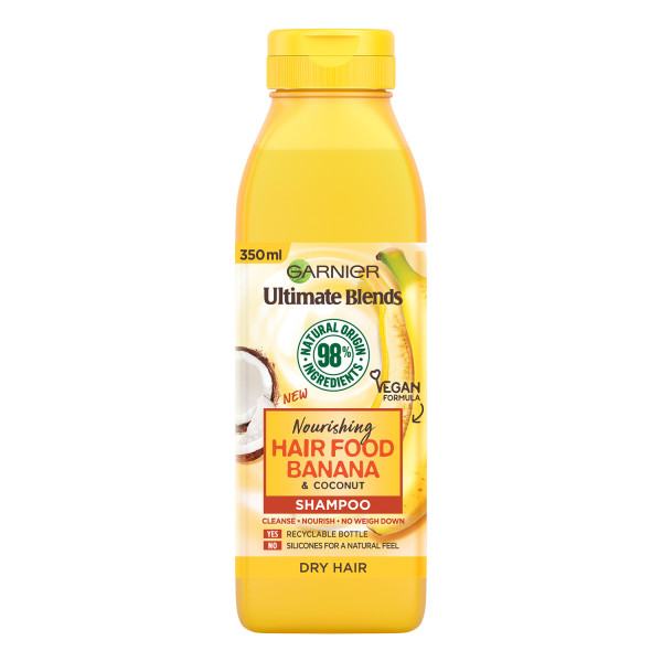 Garnier Ultimate Blends Nourishing Hair Food Banana Shampoo For Dry Hair