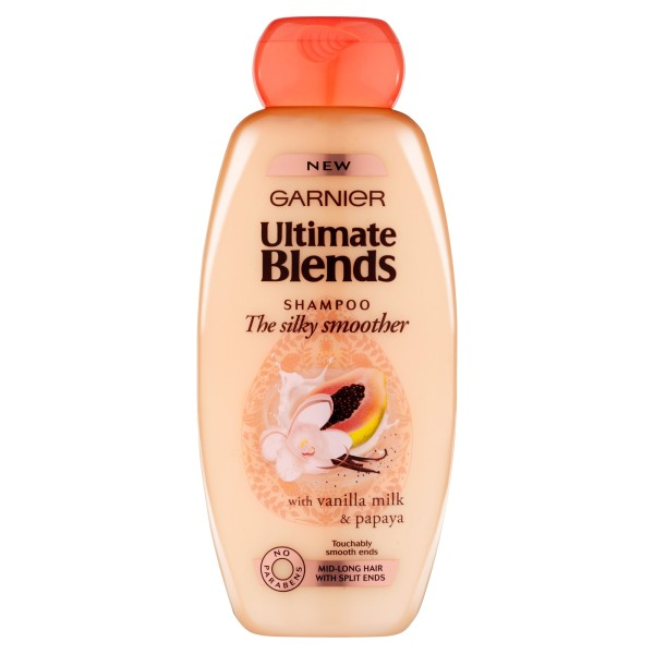 LOreal Ultimate Blends Silky Smoother Shampoo 400ml