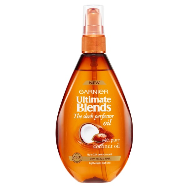 Garnier Ultimate Blends Sleek Perfector Oil for Frizzy Hair