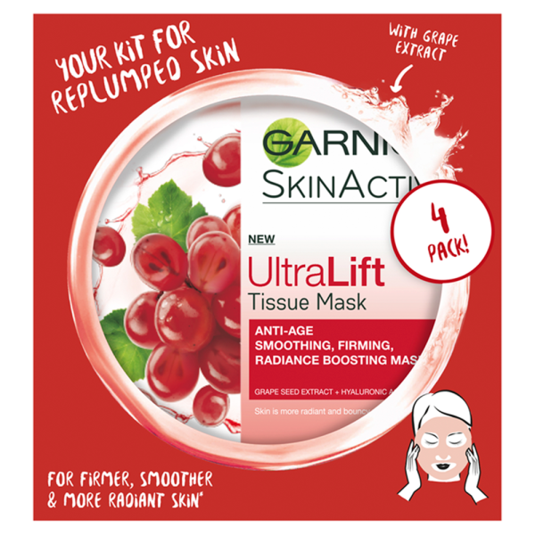 Garnier UltraLift Anti-Ageing Sheet Mask