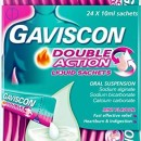 Gaviscon Double Action Liquid Sachets
