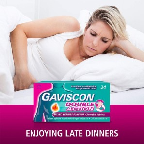 Gaviscon Double Action Mixed Berry Tablets