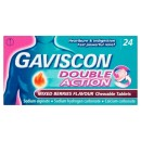 Gaviscon Double Action Mixed Berry Tabs 24s