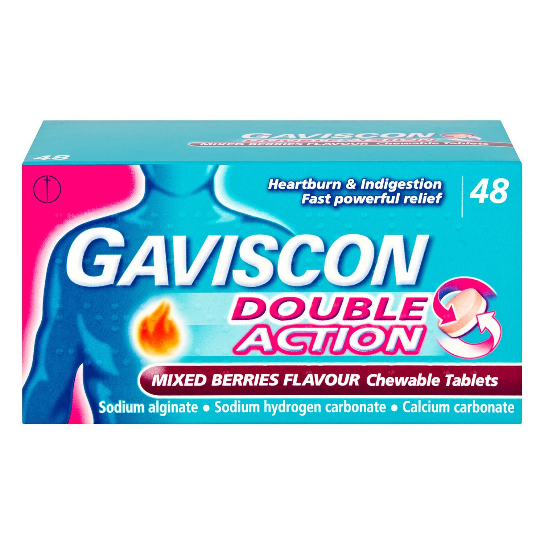 Gaviscon Double Action Mixed Berry Tabs