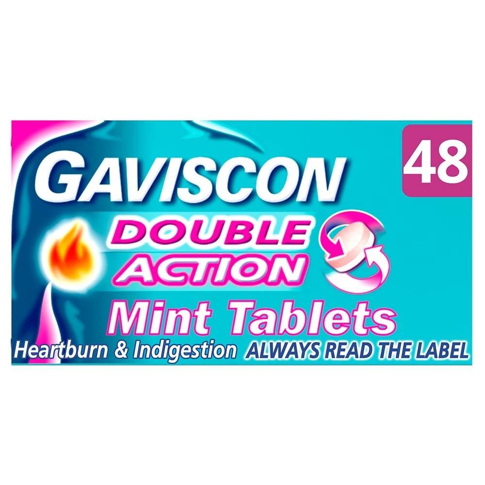 Gaviscon Double Action Tablets 48s