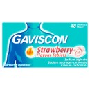 Gaviscon Tablets Strawberry 48s
