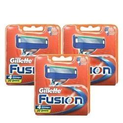 Gillette Fusion Razor Blades  12 Blades