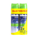 Gillette Series Gel with Aloe Twin Pack
