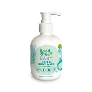 Good Bubble Baby Hair & Body Wash with Cucumber & Aloe Vera